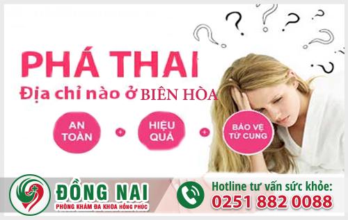 Phòng khám phá thai đảm bảo chất lượng tại Biên Hòa