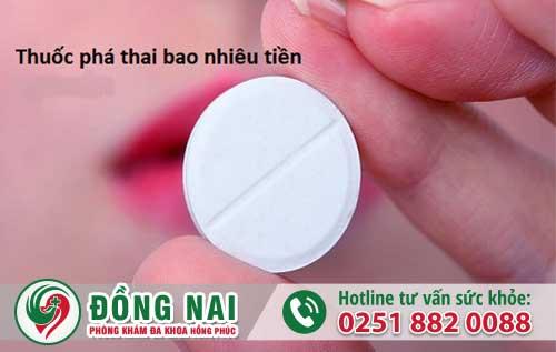 Các Loại Thuốc Phá Thai Bao Nhiêu Tiền?