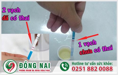 Cách sử dụng que thử thai tại nhà đúng cách