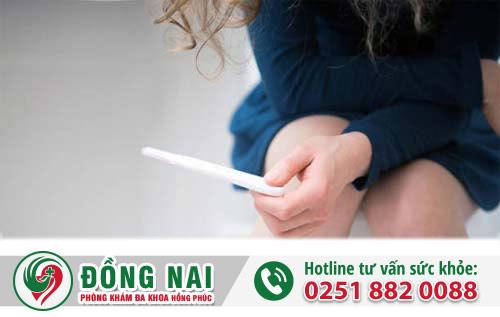 Hút điều hòa kinh nguyệt cho thai