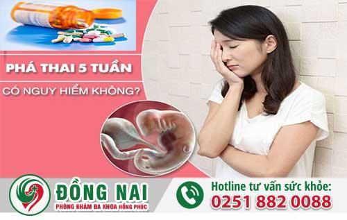 Phá Thai 5 Tuần Tuổi Có Nguy Hiểm Không?