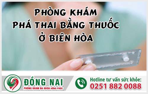 Phòng khám phá thai bằng thuốc ở Biên Hòa