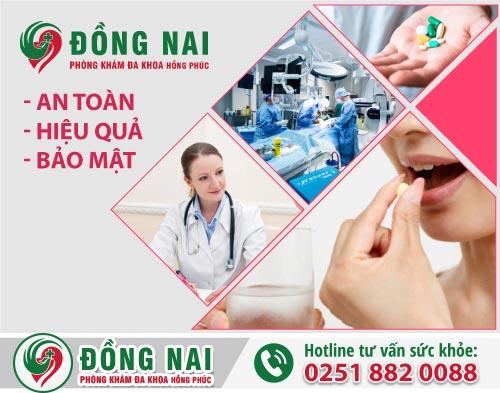 Phòng khám phá thai tại Trảng Bom an toàn, hiệu quả, kín đáo